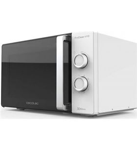 Cecotec 250229946 microondas proclean 4110/ 700w/ capacidad 23l/ función grill/ blanc - 250229946