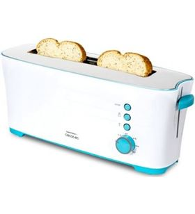 Tostador Cecotec toast and taste 1l/ 1000w/ blanco 650224626 - 650224626