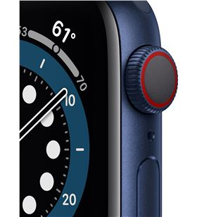 Apple watch s6 40mm gps cellular caja aluminio azul con correa azul marino M06Q3TY/A - M06Q3TYA