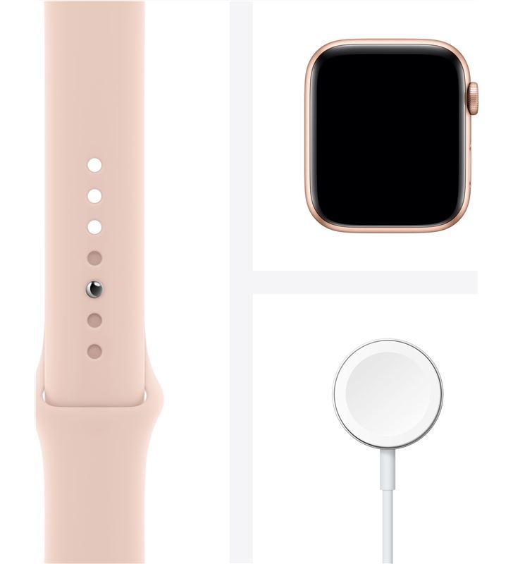 Apple watch s6 40mm gps caja aluminio oro con correa rosa arena sport band MG123TY/A - 85936658_9271327539