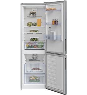 Beko RCNA366K34XB frigorífico combi n clase f 185,2x59,5 no frost acero ino - RCNA366K34XBN