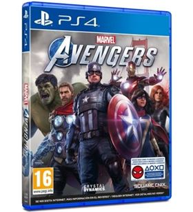 Sony AVENGERSPS4 juego para consola ps4 marvel's avengers - AVENGERSPS4