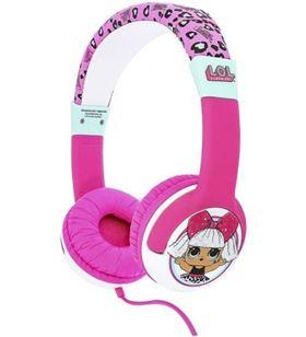 Sihogar.com auriculares infantiles otl l.o.l. surprise! my diva / jack 3.5/ rosa lol763 - OTL-AUR LOL763