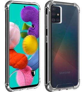 Akashi transparente funda carcasa trasera silicona Samsung galaxy A51 refor - +22099