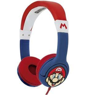 Sihogar.com auriculares infantiles otl super mario/ jack 3.5/ azules sm0762 - OTL-AUR SM0762