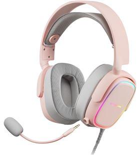 Auricular con micrófono mars gaming mhax pink - dRivers 53mm - micrófono om MHAXP - TAC-AUR MHAXP