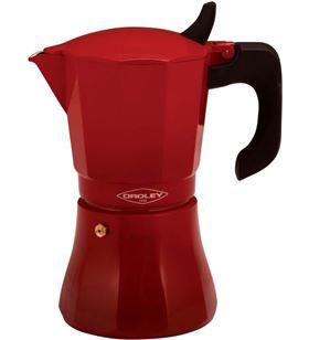 Oroley 215090411 cafetera petra roja 9 tazas, inducción - 215090411