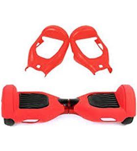 #000046 091067 funda silicona scooter infiniton in-roller roja - 091067