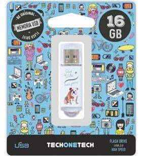 Tech TOT-QVMP 16GB pendrive one que vida mas perra 16gb usb 2.0 tec4009-16 - TOT-QVMP 16GB