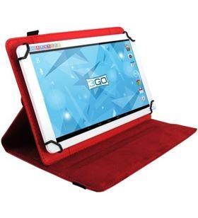 3go -FUNDA TAB 7 ROJA funda universal csgt21 roja - para tablets 7''/17.78cm - soporte girator - 3GO-FUNDA TAB 7 ROJA