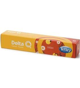 Sihogar.com caja de 10 cápsulas de tisana delta relax - camomila con notas de melocotón 5428001 - DEL-TISANA RELAX