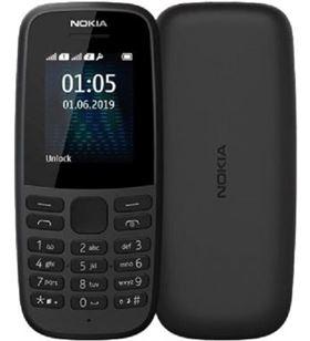 Teléfono móvil Nokia 105 4th edition negro - pantalla 1.8''/4.57cm qvga - 3g 16KIGB01A03 - NOK-TEL 105 4TH BK