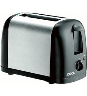 Sihogar.com tostador de pan jocca 5457 negro/plata - 600-700w - 5 posiciones de tostado - JOC-PAE-TOS 5457
