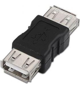 Adaptador usb 2.0 Aisens A103-0037 - conectores usb tipo a hembra en ambos - AIS-ADP A103-0037
