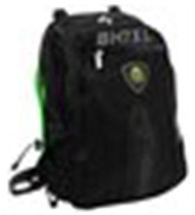 Sihogar.com mochila portatil 17 keep out bk7gxl negro/verde - A0030582