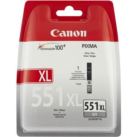 Cartucho orig Canon cli-551xl gy gris 6447B001 Otros productos consumibles - CLI-551GY XL V2