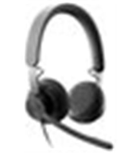 Auriculares micro Logitech uc zone wired negro diadema/usb 981-000875 - A0034559