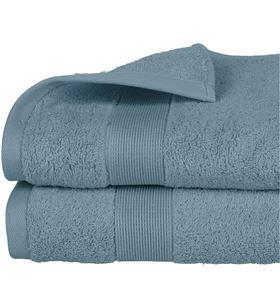 Atmosphera toalla de rizo 450gr color azul abeto 70x130cm 3560238359716 - 68020