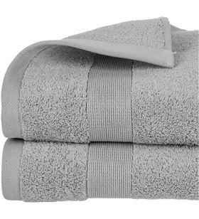 Atmosphera toalla de rizo 450gr color gris 70x130cm 3560239469896 - 68019