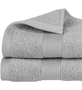 Atmosphera toalla de rizo 450g color gris 30x50cm 3560239469636 - 68046