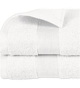 Atmosphera toalla de rizo 450gr color blanco 70x130cm 3560239469834 - 68053