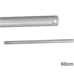 Edm tubo 60cm cromado prolongador para ventilador techo 8425998009767 - 00976