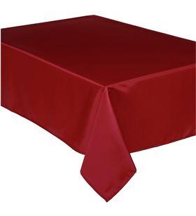 Atmosphera mantel anti manchas rojo 240x140cm polyester 3560238478394 - 68026