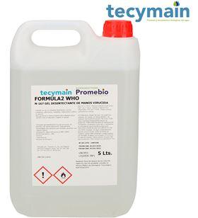 Tecymain gel hidroalcoholico 5l garrafas de 5l 8425998965339 - 96533