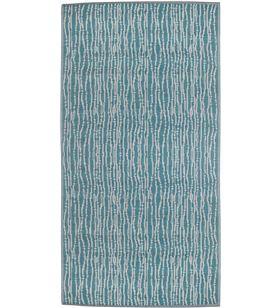 Mica alfombra para exterior color azul verano 180x120cm polipropileno 8718861760552 - 68063
