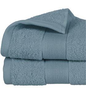 Atmosphera toalla de rizo 450gr color azul abeto 50x90cm 3560238359686 - 68017