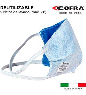 Cofra s.of. mascarilla semifacial reutilizable 100% poliester healt mask 8023796563919 - 80092