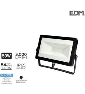 Edm foco proyector led 50w 6400k 3000 lumen 8425998703436 - 70343