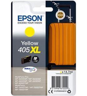 Cartucho de tinta original Epson nº405 xl alta capacidad/ amarillo C13T05H44010 - EPS-C13T05H44010