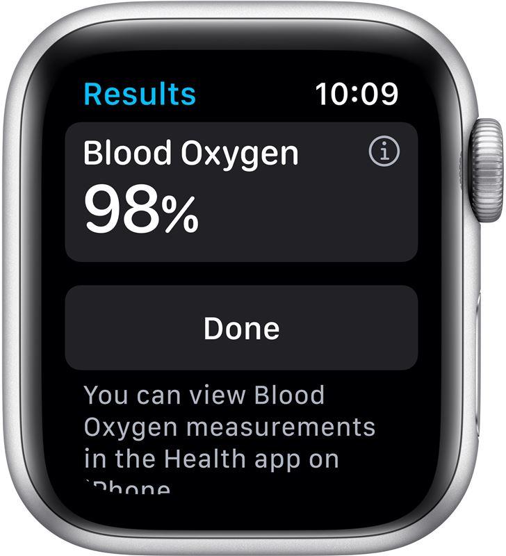 Apple M00T3TY/A watch s6 40mm gps nike caja aluminio con correa platino puro y negro - 85936651_7990807640