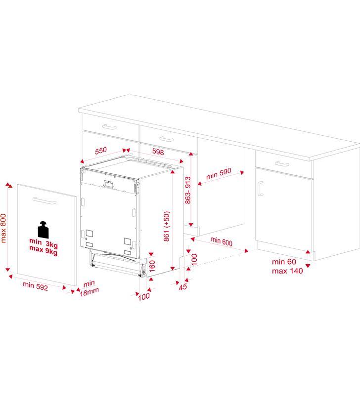 Lavavajillas integrable ( no incluye panel puerta ) Teka dfi 46950 xl wh 114270002 - 80685197_1528658022