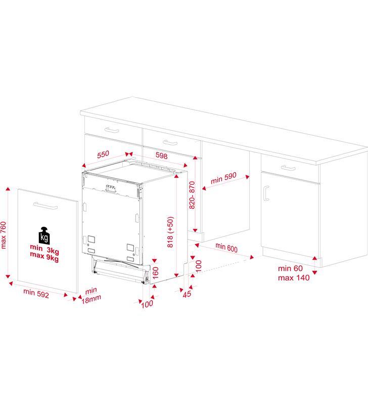 Lavavajillas integrable ( no incluye panel puerta ) Teka dfi 46950 wh 114270001 - 80685081_8360788752