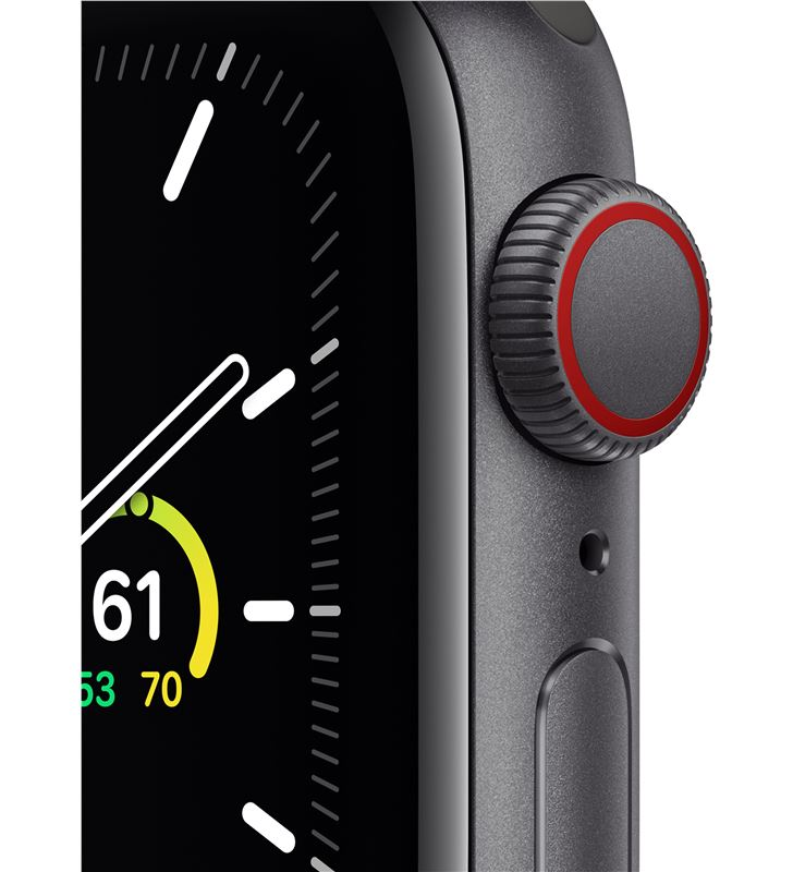 Apple MYEK2TY/A watch se 40mm gps cellular caja aluminio gris espacial con correa neg - 85937371_6238018234