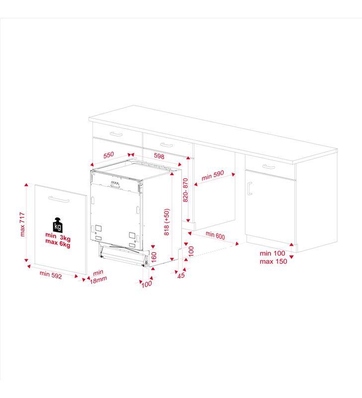 Lavavajillas integrable ( no incluye panel puerta ) 60cm Teka dfi 46700 wh 114270009 - 80685313_8504843495