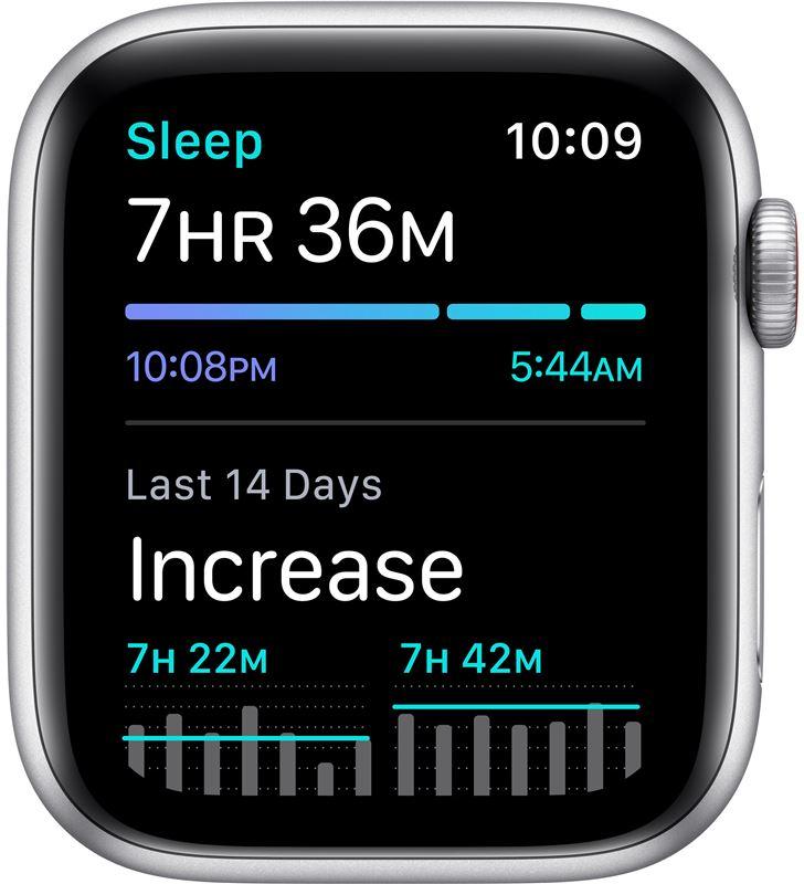 Apple MG083TY/A watch se 44mm gps cellular nike caja aluminio con correa platino y ne - 85936633_6517339164
