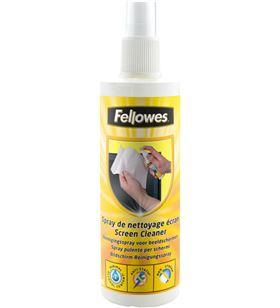 Fellowes espray limpiador de pantallas 250ml. fel99718 - 077511997181