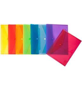 Sihogar.com sobre pp translucido folio ecoplas amarillo de plastico con cierrre de broc 04871260 - 04871260