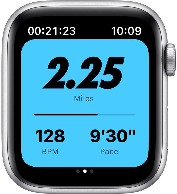 Apple MG083TY/A watch se 44mm gps cellular nike caja aluminio con correa platino y ne - 85936633_9921706213