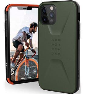 Sihogar.com +23479 #14 uag civilian verde carcasa apple iphone 12/12 pro resistente iph12/12 pro ci - +23479 #14