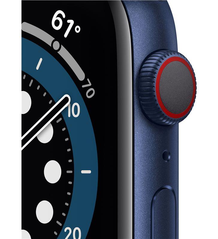 Apple M09A3TY/A watch s6 44mm gps cellular caja aluminio azul con correa azul marino - 85936640_1043006534