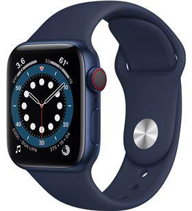 Apple M06Q3TY/A watch s6 40mm gps cellular caja aluminio azul con correa azul marino - M06Q3TYA