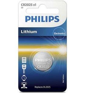 Pila de botón Philips cr2025/ 3v CR2025/01B Ofertas varias - PHIL-PILA CR2025 01B