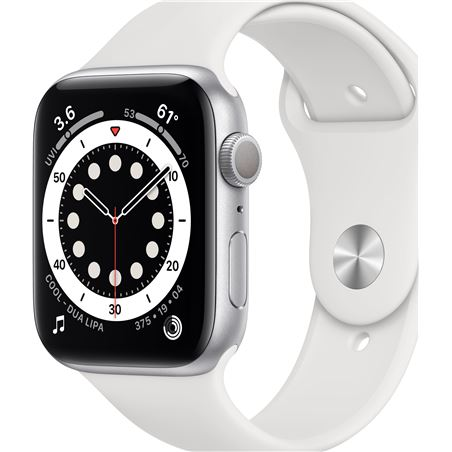Apple watch s6 40mm gps caja aluminio con correa blanca sport band - mg283t MG283TY/A - MG283TYA