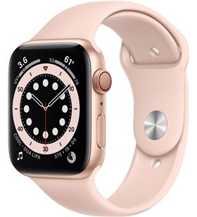 Apple watch s6 44mm gps cellular caja aluminio oro con correa rosa arena sp MG2D3TY/A - MG2D3TYA