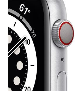 Apple watch s6 44mm gps cellular caja aluminio con correa blanca sport band MG2C3TY/A - 85936632_9441330969