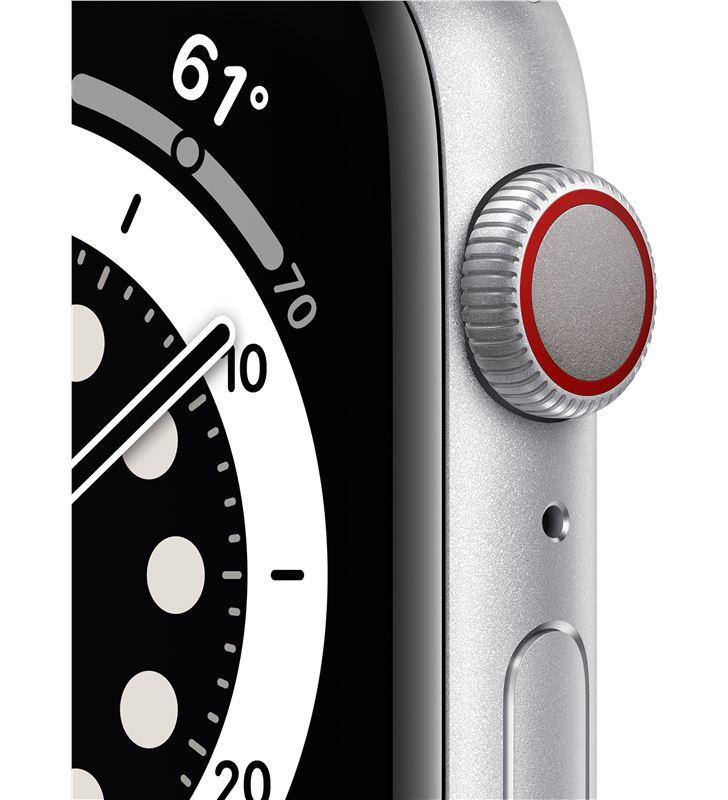 Apple watch s6 44mm gps cellular caja aluminio con correa blanca sport band MG2C3TY/A - 85936632_3615186623